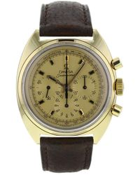 Omega - Pre-owned Seamaster Yellow Gold Watch - Lyst