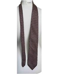Dior Seide Krawatten - Braun