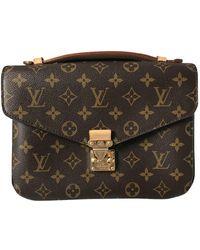 Louis Vuitton Metis Leinen Cross body tashe - Braun