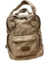 Marc By Marc Jacobs Pretty Nylon Beige Polyester Backpack - Natural