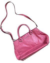 Michael Kors Sutton Leather Handbag - Pink