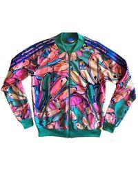 adidas Vest en Polyester Multicolore