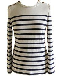 Jean Paul Gaultier - White Cotton Top - Lyst
