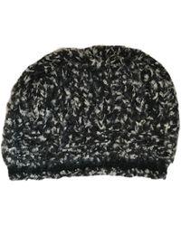 50b5c5fb6d71a Chanel - Black Cashmere Hats - Lyst