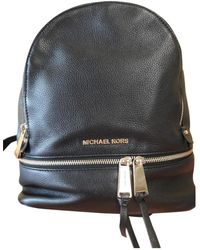 Michael Kors - Pre-owned Leather Backpack - Lyst