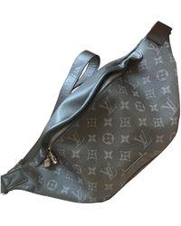 Louis Vuitton Bum Bag / Sac Ceinture Leinen Taschen - Schwarz