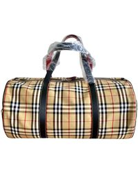 Burberry Travel Bag - Natural