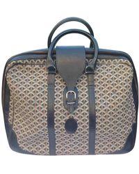 Goyard Black Cloth Travel Bag