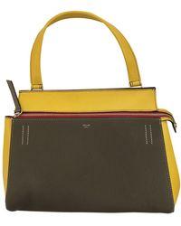 Celine Edge Leder Handtaschen - Gelb