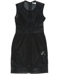 Jonathan Simkhai - Black Polyester Dress - Lyst