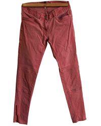 Sandro Jeans en Coton - elasthane Rose