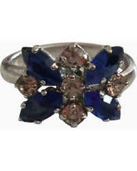 Dior Silver Metal Rings - Metallic