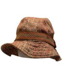 Missoni Cappelli in lana multicolore - Marrone