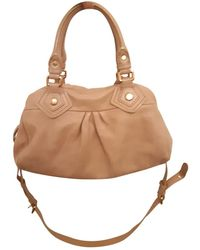 Marc By Marc Jacobs Classic Q Pink Leather Handbag