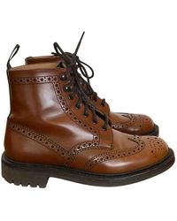 Church's Leather Boots - Brown