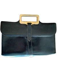 Lancel Leather Handbag - Black