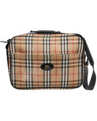 Burberry \n Other Cloth Bag - Multicolour
