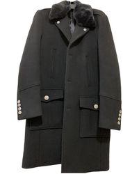 The Kooples Fw19 Wool Coat - Black