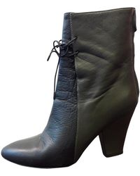 Christian Wijnants Multicolour Leather Ankle Boots