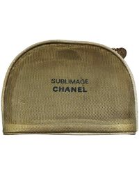Chanel Vanity Case - Natural