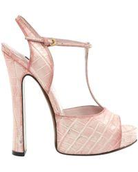 6937289e2a4a Louis Vuitton Matchmake Cross Sandal in White - Lyst