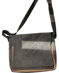 Louis Vuitton Terre Damier Geant Messenger Leinen Taschen - Braun