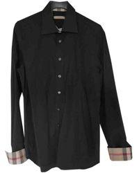 Burberry - Black Cotton Shirts - Lyst