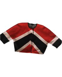 Burberry Wool Cardigan - Red