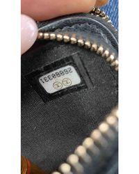 Chanel Sac à main Wallet on Chain en Cuir Noir
