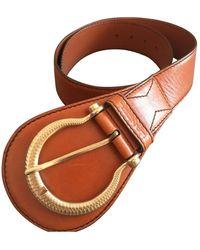 Lancel Leather Belt - Multicolor