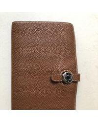 Hermès Dogon Leder Portemonnaies - Mehrfarbig