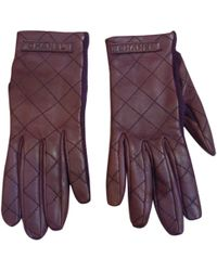 Chanel - Leather Gloves - Lyst