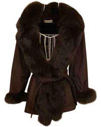 Balmain Coat - Brown