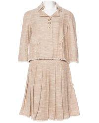 Chanel Tailleur Tweed - Neutro