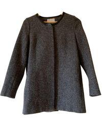 IRO Fall Winter 2018 Gray Wool Coats