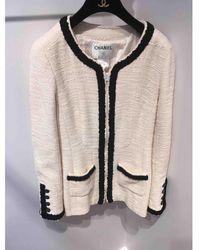 Chanel Giacca in lana ecru - Multicolore