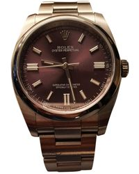Rolex Oyster Perpetual 36mm Uhren - Lila