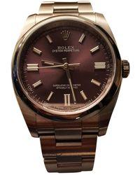 Rolex Relojes Oyster Perpetual 36mm - Morado