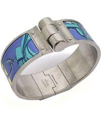 Hermès - Bracelet Charnière Other Metal Bracelets - Lyst