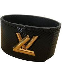 Louis Vuitton Twist Lackleder Armbänder - Schwarz