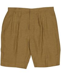 Chloé Green Viscose Shorts
