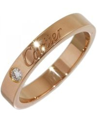 Cartier - Pink Pink Gold Ring - Lyst