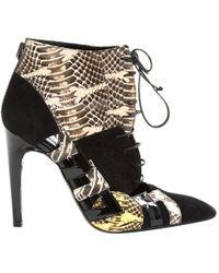 Bottega Veneta - Lace Up Boots - Lyst