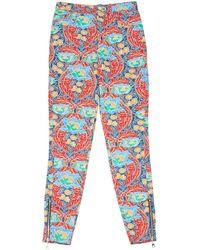 Louis Vuitton Multicolour Cotton Trousers