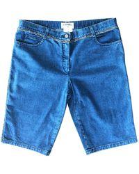 Chanel Blue Denim - Jeans Shorts