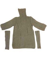 Neil Barrett Gray Wool Knitwear