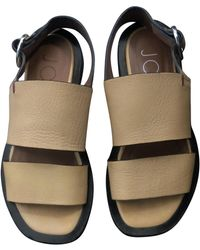 JOSEPH Leather Sandal - Yellow