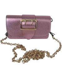Burberry - Patent Leather Handbag - Lyst