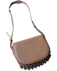Alexander Wang Lia Leather Crossbody Bag - Natural