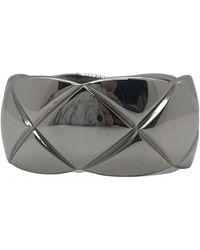 Chanel Coco Crush White Gold Ring - Multicolour